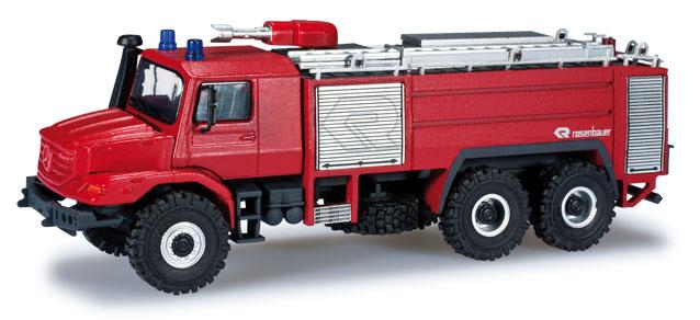 Mercedes Benz Zetros Rosenbauer Buffalo Feuerwehr Brandweerauto