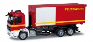 "Mercedes-Benz Actros S ´08 Abrollcontainer-LKW ""Feuerwehr"""