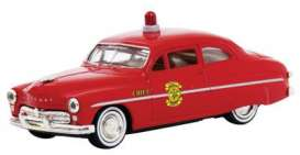 1949 Mercury Coupe *Fire Chief*, red