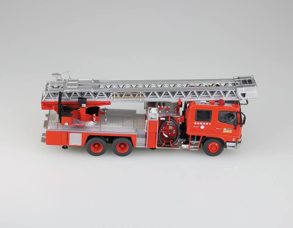aoshima brandweer ladderwagen