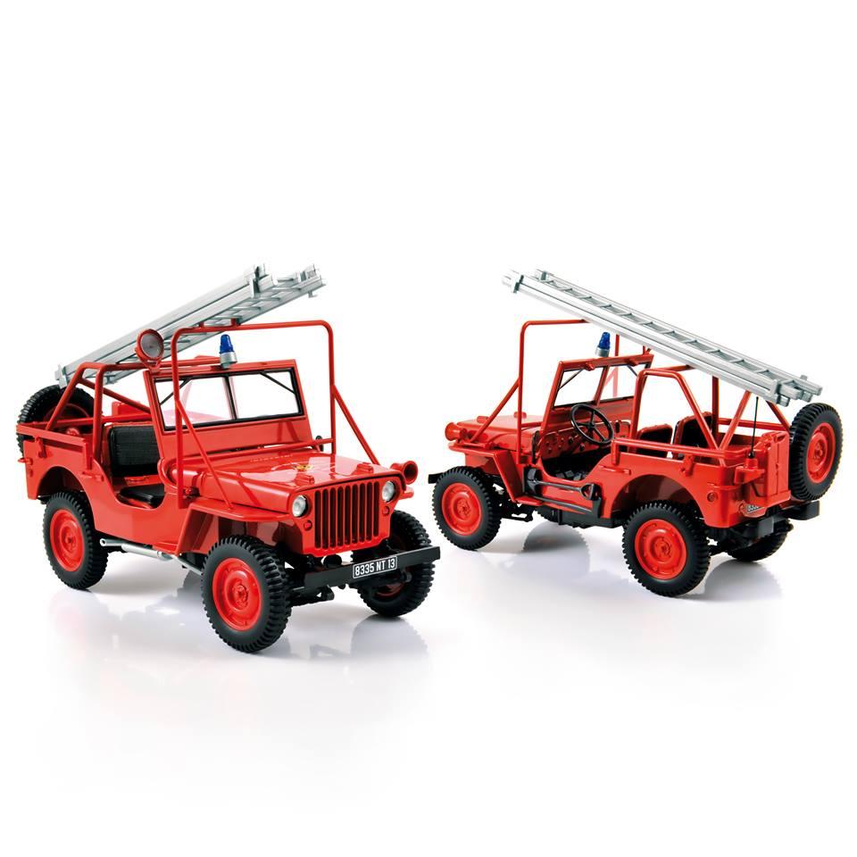 Norev 1-18 NOREV Collectors 189012 Fire Department Vehicle 1988