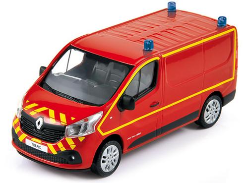 Brandweer Norev RENAULT TRAFFIC BRANDWEER 2014